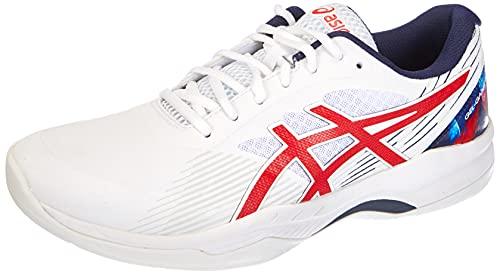 ASICS Gel-Game 8 L.E, Zapatillas de Tenis Hombre, Color Blanco clásico, 46 EU