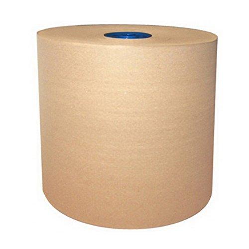 Cascades Tissue 1358 Tandem North River Moka Brown Roll Towel 6/775', N/A