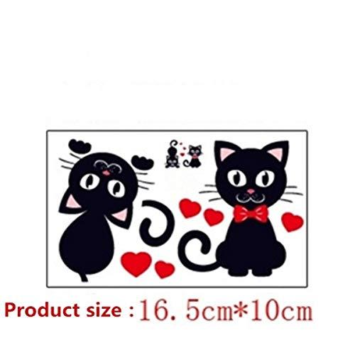 FYSKJDG Sticker Mural Cartoon Animal Little Cat Switch Sticker Socket Sticker Kids Room Bedroom Living Room Home Decor Supplies Vinyl Wall Sticker
