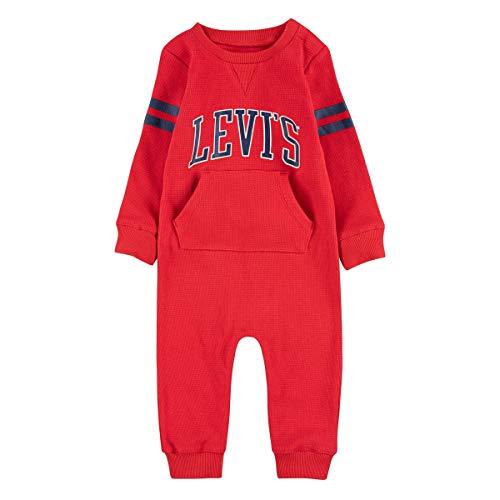 Levi's CollegiateKnitCoverall Overalls/Latzhosen Jungen Rot - 24 Mois - Overalls/Latzhosen Dress