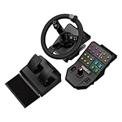 Updated with engineering enhancements that address feedback from the community 900-degree rotation steering wheel offers the realistic rate of rotation for a tractor steering wheel Integrated Dual Analog Sticks enables control of your farmer when wal...