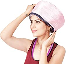 WOQZILINE Hair Care Thermal Head Spa Cap Treatment with Beauty Steamer Nourishing Heating Cap, Spa Cap For Hair, Spa Cap Steamer For Women