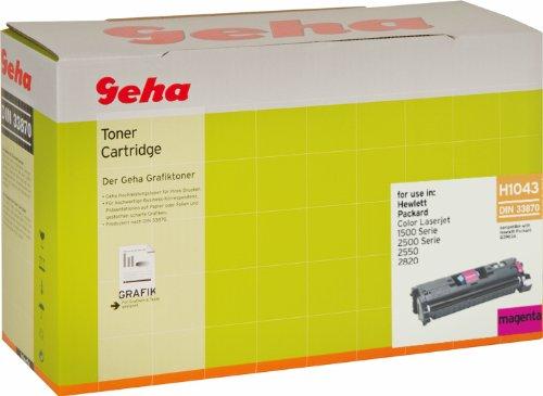 Geha Toner für HP ersetzt Nr. Q3963A magenta