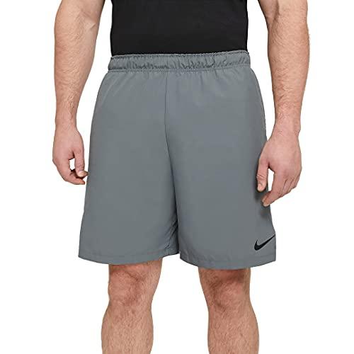 NIKE Flex Pantalones Cortos, Smoke Grey Black, S para Hombre