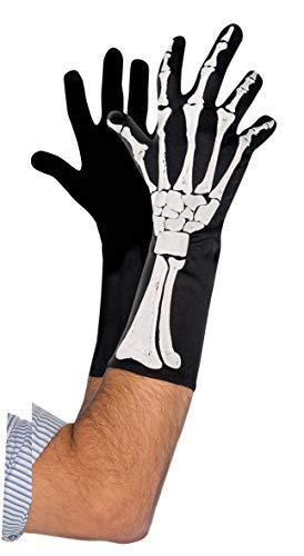 Accessoire de costume Homme - Gants de squelette