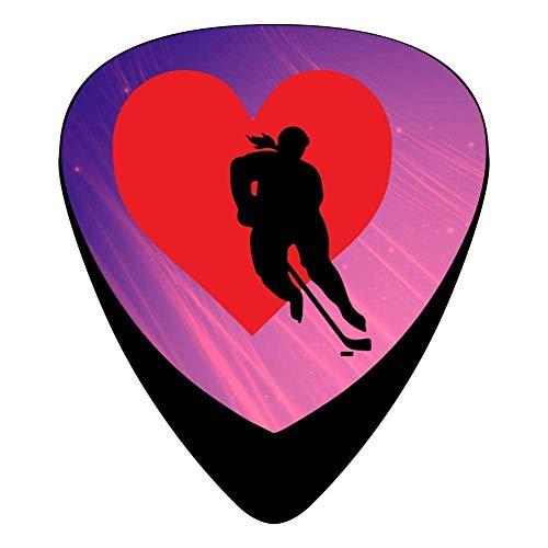 hangong Púas para guitarra eléctrica de celuloide Love...