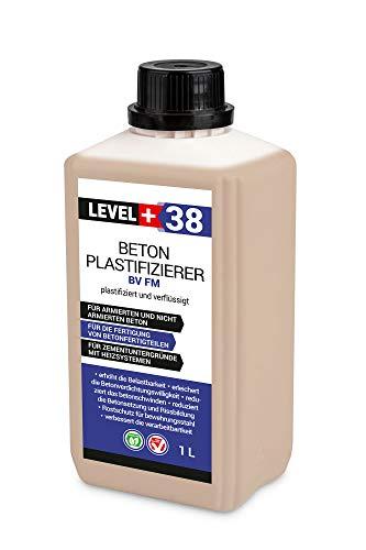 1 L Beton Plastifizierer Fließmittel Betonverflüssiger Zusatzmittel Estrich Zusatzmittel Betonfließmittel RM38