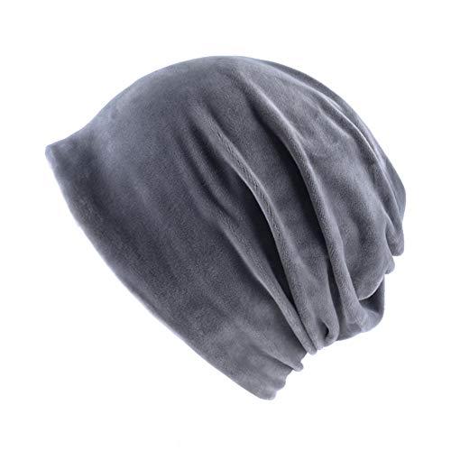 KFEK Latzhose Herren und Damen Anti-Daunen Kaschmir einfarbig Winddicht Schutzhut A4 Einheitsgröße