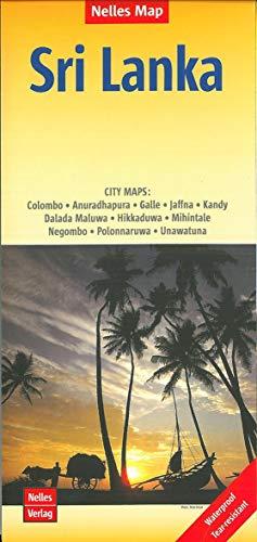 Nelles Map Landkarte Sri Lanka: 1:500.000 | reiß- und wasserfest; waterproof and tear-resistant; indéchirable et...