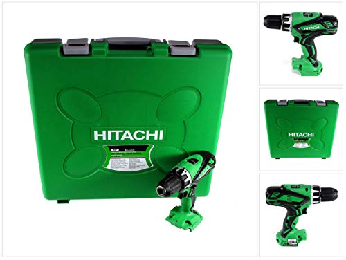 Hitachi DV 18 DGL 55 Nm Perceuse-visseuse à percussion sans batterie ni chargeur