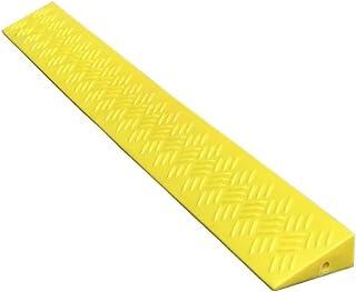 PPCP Yellow Threshold Pad, Bicycle Slope Pad, Indoor Wheelchair Threshold Pad Outdoor Non-Slip Mat Skateboard Uphill Pad S...