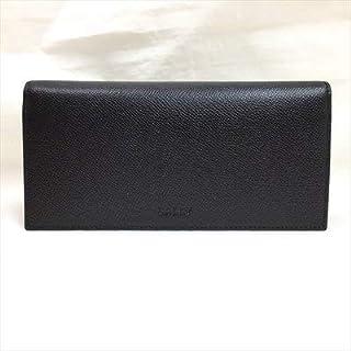[バリー] レザー 2つ折り 長財布 ウォレット 6207483 ブラック [並行輸入品]