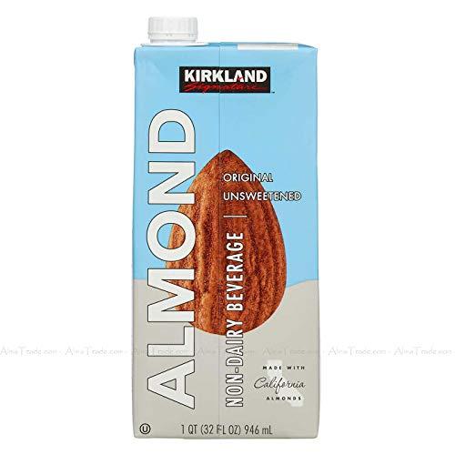 カークランドシグネチャー無糖アーモンドミルク(946mlx12本)
