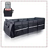 ISFC Car Trunk Organizer with Cooler - Individual...