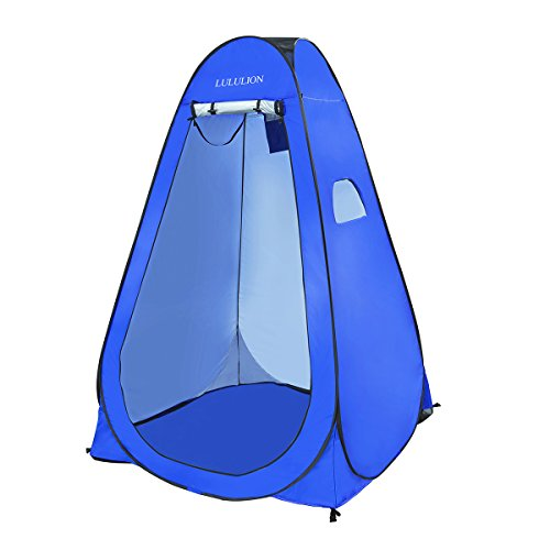 iBaseToy Pop up Tent Changing Room Outdoor Privacy Shelter Portable Tent for Camping, 6.25Ft Dressing Room Shower Tent Toilet Tent with Carrying Bag