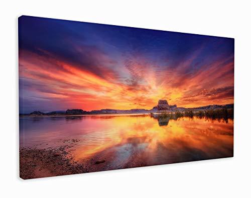 Leinwanddruck, Motiv: atemberaubende Felsen, canvas, multi, 101x61cm (40x24 Inches)