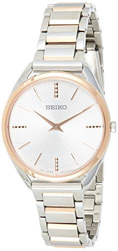 Seiko Reloj Analógico para Mujer de Cuarzo con...