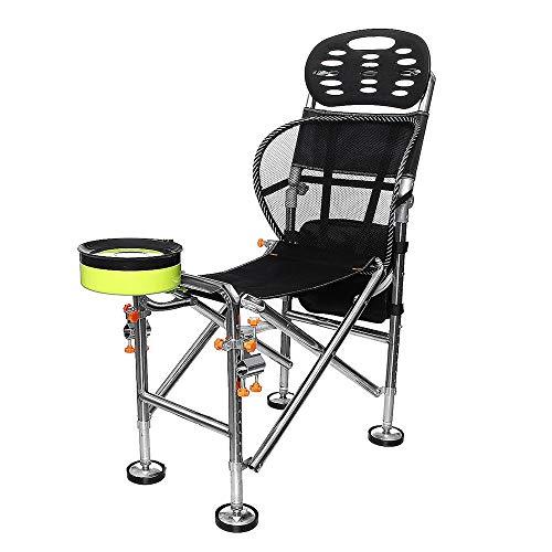 HXiaDyG Silla De Camping Plegable Portable de la Silla Plegable de Ace