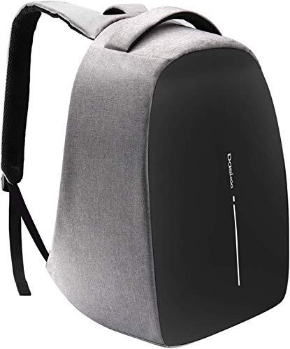 Daskoo Anti Diebstahl Laptop Rucksack, 15.6 Zoll Schul Rucksack mit USB Ladeanschluss Multifunktions Tagesrucksack für Business Wandern Reisen Camping