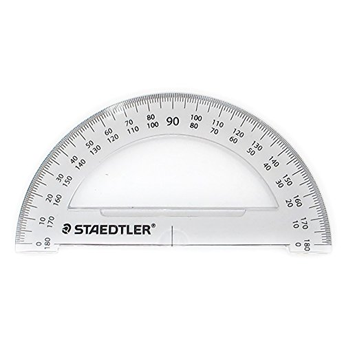 Staedtler School Kit - Geometry Compass, Protractor, Triangle Rulers, Side Click Pencil, Eraser + Neoprene Zippered Pencil Case Photo #5