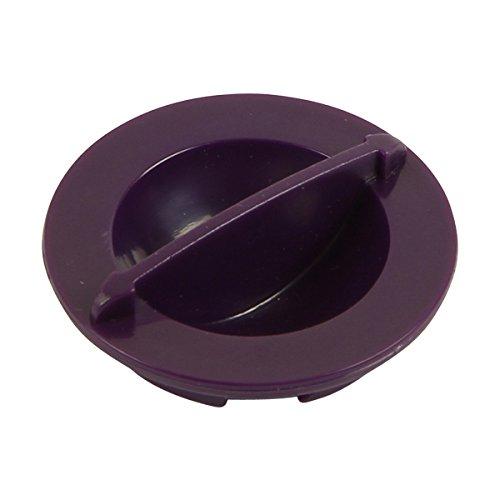 Dirt Devil Reinigungsklappe 5050003 | 1 Verschluss, Farbe lila | für Infinity Excell und Proxima