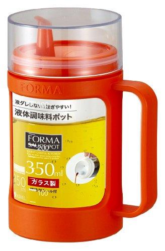 アスベルガラスポット(液体用)「フォルマ」オレンジ1132