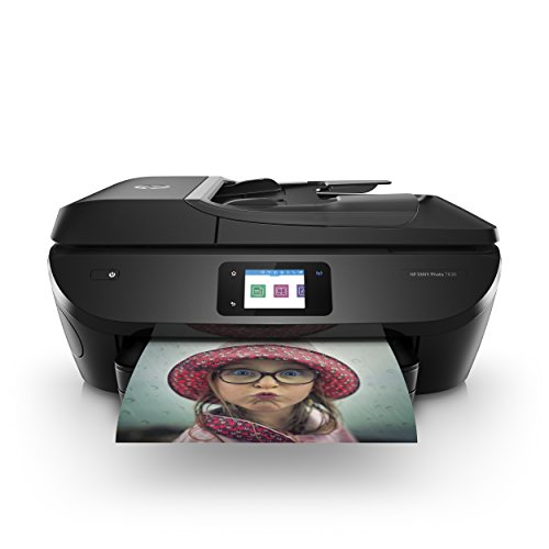 HP ENVY Photo 7830 Multifunktionsdrucker (Instant Ink, Drucken, Scannen, Kopieren, Faxen, WLAN, Airprint) inklusive 4 Monate Instant Ink