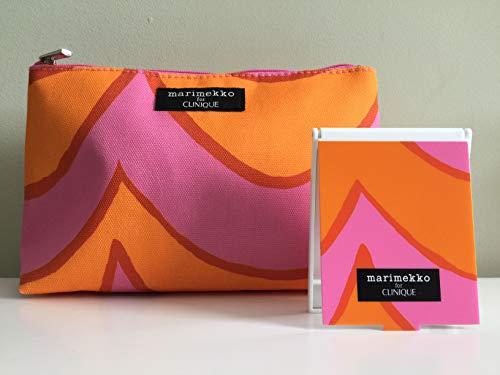 Marimekko for CLINIQUE Limited Edition Cosmetic + Mirror Set: Orange/Pink