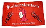 Fahne / Flagge Fußball Kaiserslautern NEU 90 x 150 cm