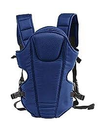 Mom's Pride 3 in 1 Baby Carry Bag Backpack Sling Back Position- Front Position Carrier (Navy Blue),Mom's Pride
