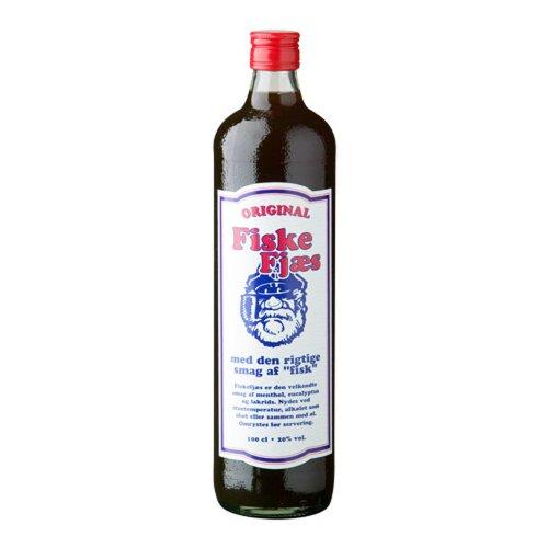 Fiske - Fjaes Likör Menthol Eukalyptus Lakritz Wodka 16,4% Vol. - 1,0l