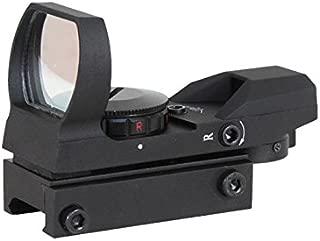 AIM SPORTS Dual Illumination 4 Different Reticles/Operator Edition Reflex Sights, Black