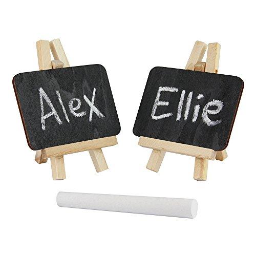 support de table ou de d/écoration pour le magasin?; avec craie ou /à craie sftift /écriture ?; comme M/émo Place Petit tableau sur chevalet en bois 10/x 18/cm