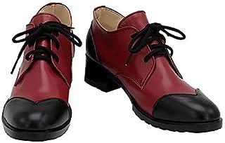 リドル ローズハートRiddle Rosehearts コスプレ靴 リドル ブーツ 靴 コスプレ服 変装 大学際 パーティー アニメフェア ハロウィーン (24)