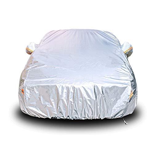 GAODD Cubierta De Coches Compatible con Mercedes Benz R400 R300L S450L Cubierta De Coche Altamente Reflectante Película De Aluminio Protección Solar Ropa De Coche (Color : Silver, Size : R300L)