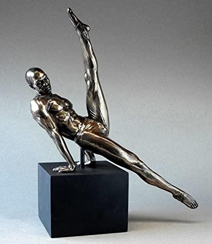 Body Talk Skulptur Akt Mann - Spagat #75750