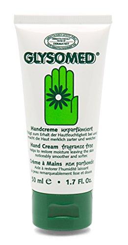 Handcreme unparfümiert Glysomed hypoallergene Creme für trockene Haut 50 ml Tube