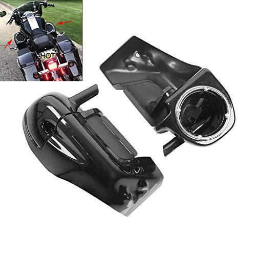 XFMT Lower Vented Leg Fairings W/ 6.5' Speaker Box Pods for Harley Touring 1983-2013 Road King...