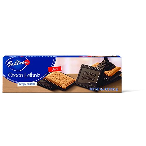 Bahlsen Choco Leibniz Milk Cookies (12 boxes) - Leibniz Butter Biscuits topped with a thick layer of European Chocolate - 4.4 oz boxes