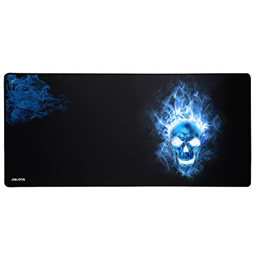 JIALONG Alfombrilla Raton Grande Gaming Mouse Pad XXL 900x400mm, Lavable,...