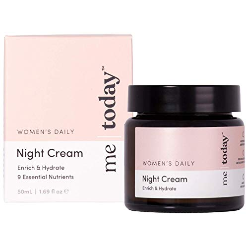 Me | Today Women's Daily Night Cream | 50ml Made in New Zealand | Unlock your best tomorrow with Me Today