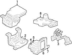 Mopar 0501 1623AA, Brake Proportioning Valve