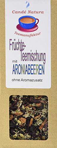 Candé Natura Teemanufaktur Früchteteemischung mit Aroniabeeren, 5er Pack (5 x 100 g)