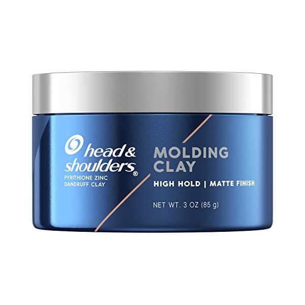 Beauty Shopping Head & Shoulders Anti-Dandruff Molding Hair Clay for Men, Strong Hold, Matte