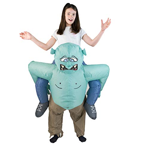 Bodysocks Fancy Dress Disfraces Hinchable de Troll Niño