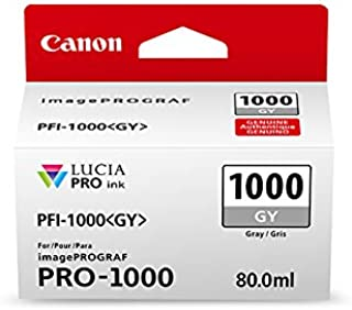 CanonInk Lucia PRO PFI-1000 Gray Individual Ink Tank