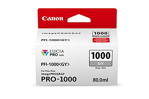 CanonInk Lucia PRO PFI-1000 Gray Individual Ink Tank