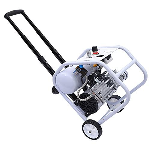 Compresor de Aire sin Aceite portátil silencioso para el hogar (52dB) Compresor de Aire Tipo Marco de Barra de Acoplamiento 550/750/1000 W Bomba de inflado de neumáticos de Pintura en Aerosol 5L