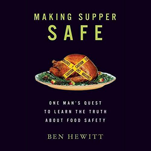 Making Supper Safe audiobook cover art