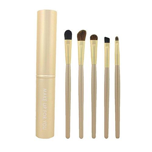 Premewish 7Piece Eye set di pennelli per trucco, kit per ombretto Blending crease kit